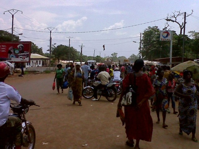 Population de Bangui,